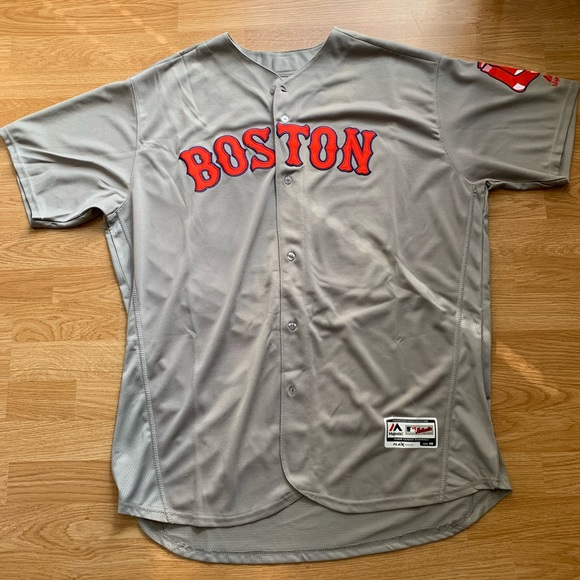separation shoes e49fb 83128 Stitched Red Sox Mookie Betts jersey